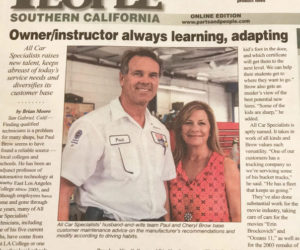 "Owner Paul Brow ""Always Learning, Adapting"" – Parts & People Article"