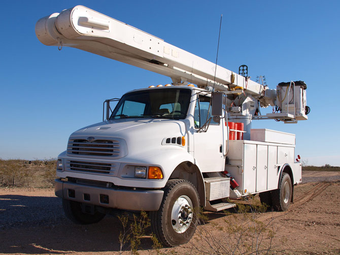 Utility Bucket Truck Maintenance & Service | All Car Specialists