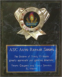ASC Auto Repair Shop Award | All Car Specialists